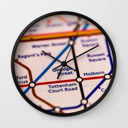 Going (London) Underground Wall Clock