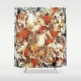 Terracotta tumble Shower Curtain