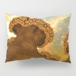 Broccoli Planet in Fall Pillow Sham