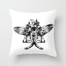 Deathshead - Belladonna Nightshade Throw Pillow