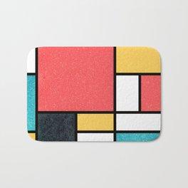 Clean Mondrian (Sponge) Bath Mat