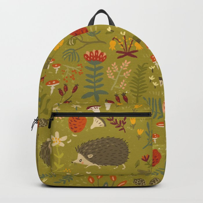 Hedgehog Meadow Backpack