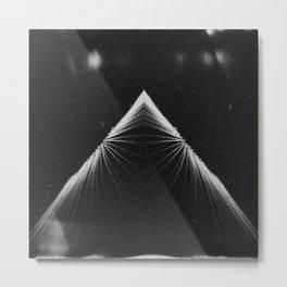 Piramide de la Luna Metal Print