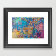 It's the End, It's the Beginning Framed Art Print