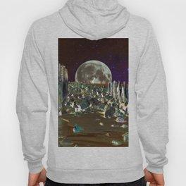 wolf moon nigth Hoody