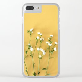 Yellow summer | Flower Photography Clear iPhone Case