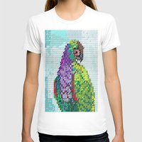 parrot T-shirts featuring Parrot  by Suburban Bird Designs