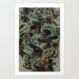 marihuana, cannabis Art Print