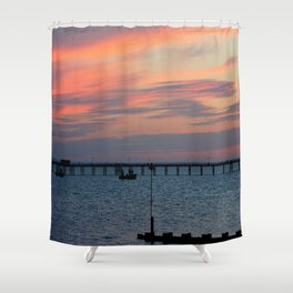 Colours in the Sky Shower Curtain