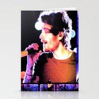 zayn malik Stationery Cards featuring Zayn Malik by Brittny May