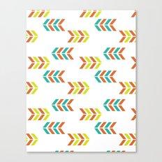ArrowStrips Canvas Print