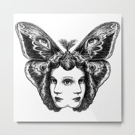 ButterflEye Metal Print