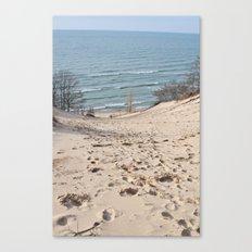 On to the Horizon Canvas Print