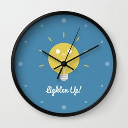Lighten Up Wall Clock