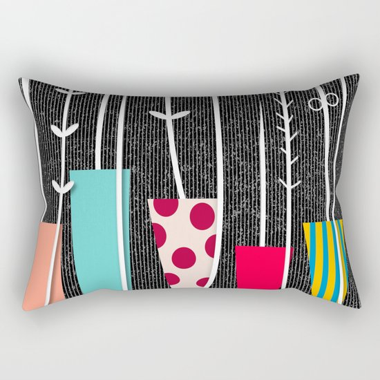 Wild Plants Rectangular Pillow