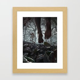 So You Have Come To Visit Me Framed Art Print