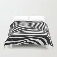 wave Duvet Covers featuring Wave by Tracie Andrews
