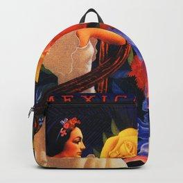 Veracruz Travel Poster Backpack