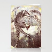 fight Stationery Cards featuring Fight. by Nato Gomes
