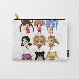 Anime Pigtails Carry-All Pouch