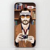 tenenbaum iPhone & iPod Skins featuring Richie Tenenbaum by The Art Warriors