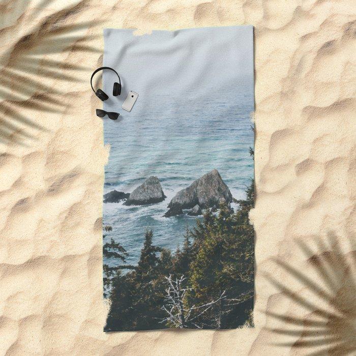Pacific Northwest Beach Towel