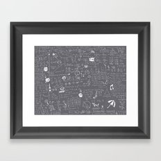 Maths Framed Art Print