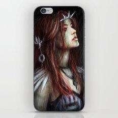 Silver Thorns iPhone & iPod Skin