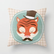 Uncommon Creatures - Tiger Throw Pillow