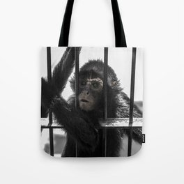 Monkey 4 Tote Bag