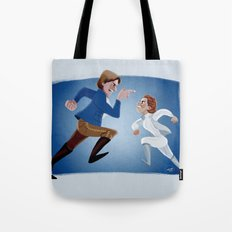 I'd just as soon kiss a wookie! Tote Bag