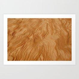 Sand texture Art Print