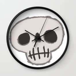Skull-King Wall Clock