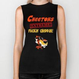 "Cheetohs ""EXTREME"" Fuckin' Cheddar Biker Tank"