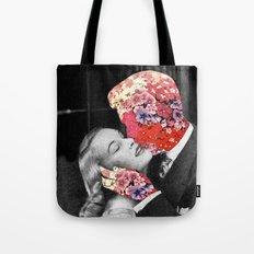 Bloomy Kiss Tote Bag