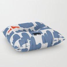 Animal World Floor Pillow