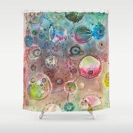 garden of universe Shower Curtain