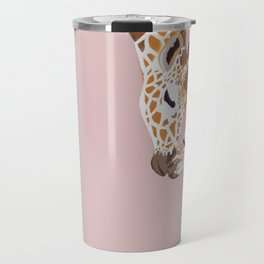 Giraffe mother and baby Travel Mug
