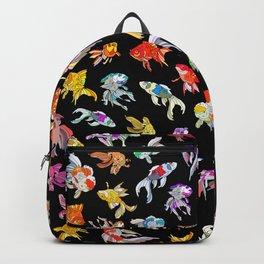 Electric Neon Black Aquarium Backpack