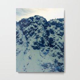 Mountainface Metal Print