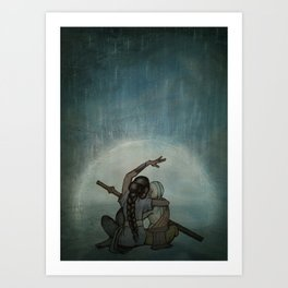 Avatar: Thought Chakra Art Print