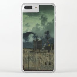 Kathmandu City Roof Tops - Architecture 08 Clear iPhone Case