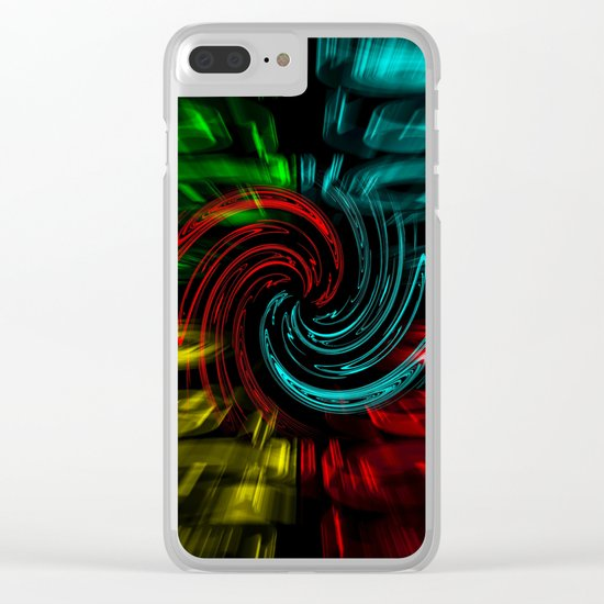 Abstract perfection 47 Clear iPhone Case