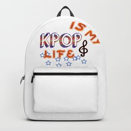 Kpop Is My Life Backpack