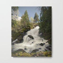 Cottonwood Falls II Metal Print