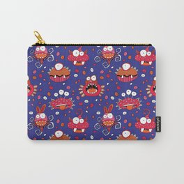 Monster Mash Purple Carry-All Pouch