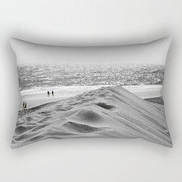 Walking the beach NO1 Rectangular Pillow
