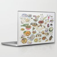 food Laptop & iPad Skins featuring Food  by tofubros