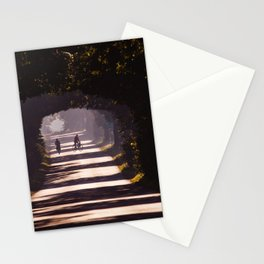 Bikes on the road Stationery Cards