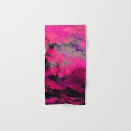 Raspberry Storm Clouds Hand & Bath Towel